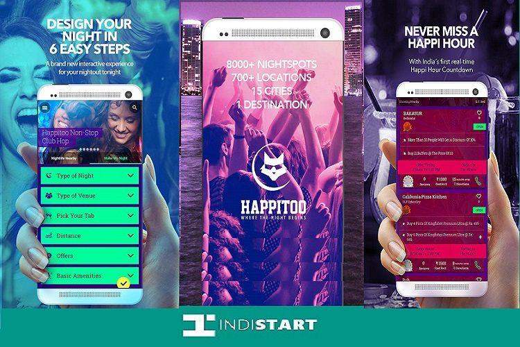 NightLife App Happitoo Raises Funding of $77,000 from Angel Investor