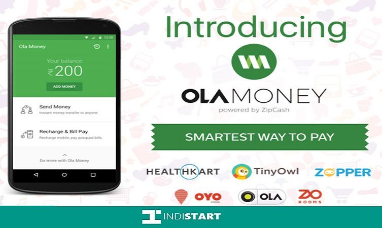 Ola launched Ola Money App on Android