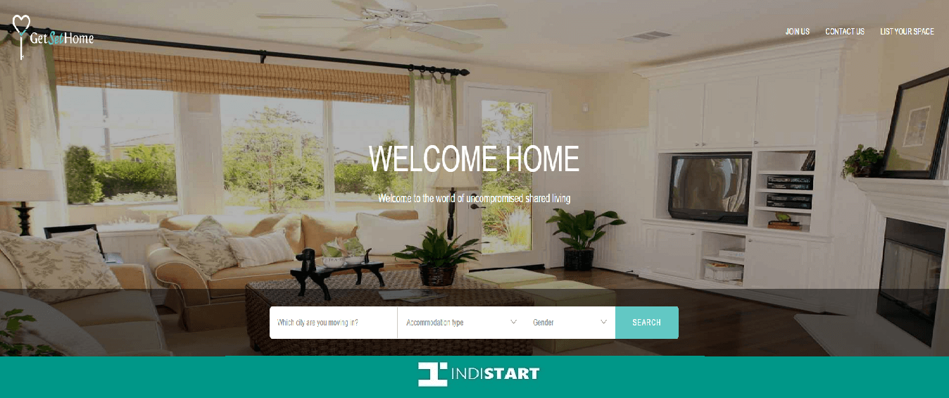 GetSetHome- Fully furnished shared and rented accomodations solution