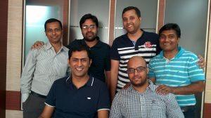 BuyTestSeries Team Photo Gaurav, Ankit Arif, Shirish, Himanshu, Pravin