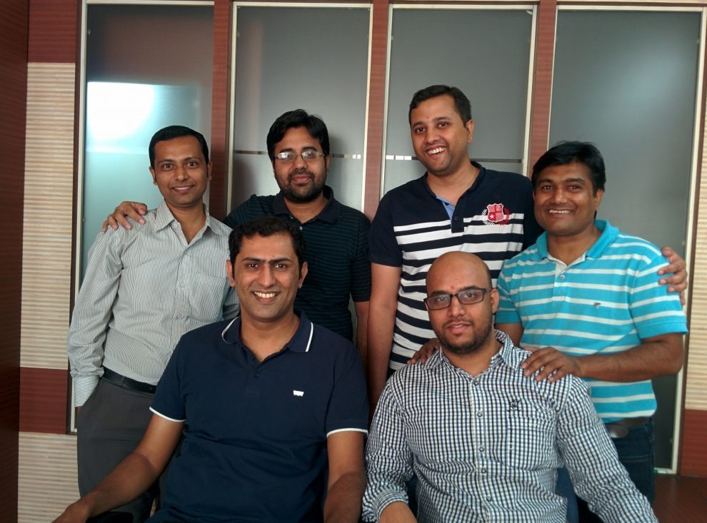 BuyTestSeries Team Photo Gaurav, Ankit Arif, Shirish, Himanshu, Pravin
