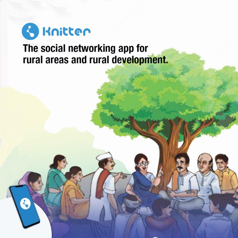 Knitter : Social Networking App for Rural India